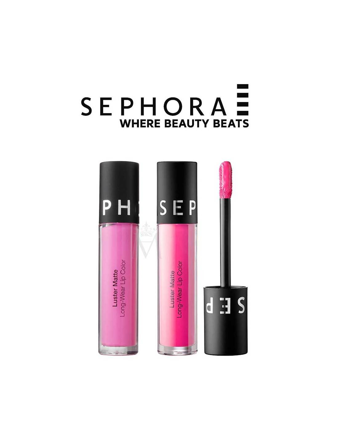 Does Sephora Do Makeup: Sephora Luster Matte Long-wear Liquid Lip Color