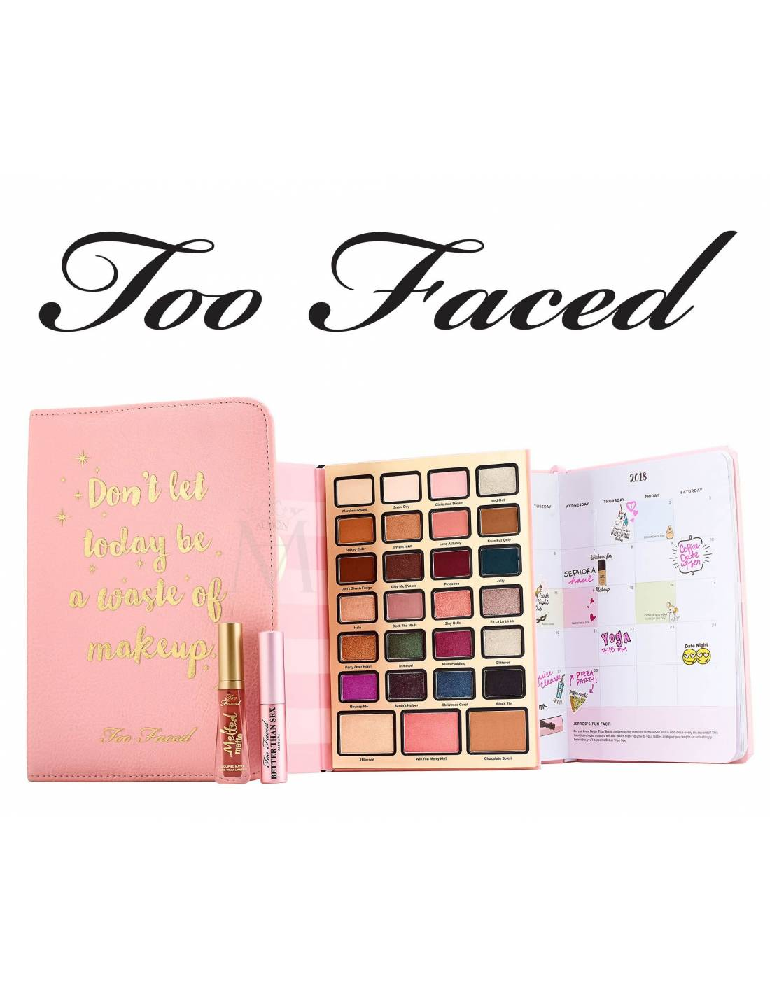 TOO FACED Boss Lady Beauty Agenda: Make Up Palette