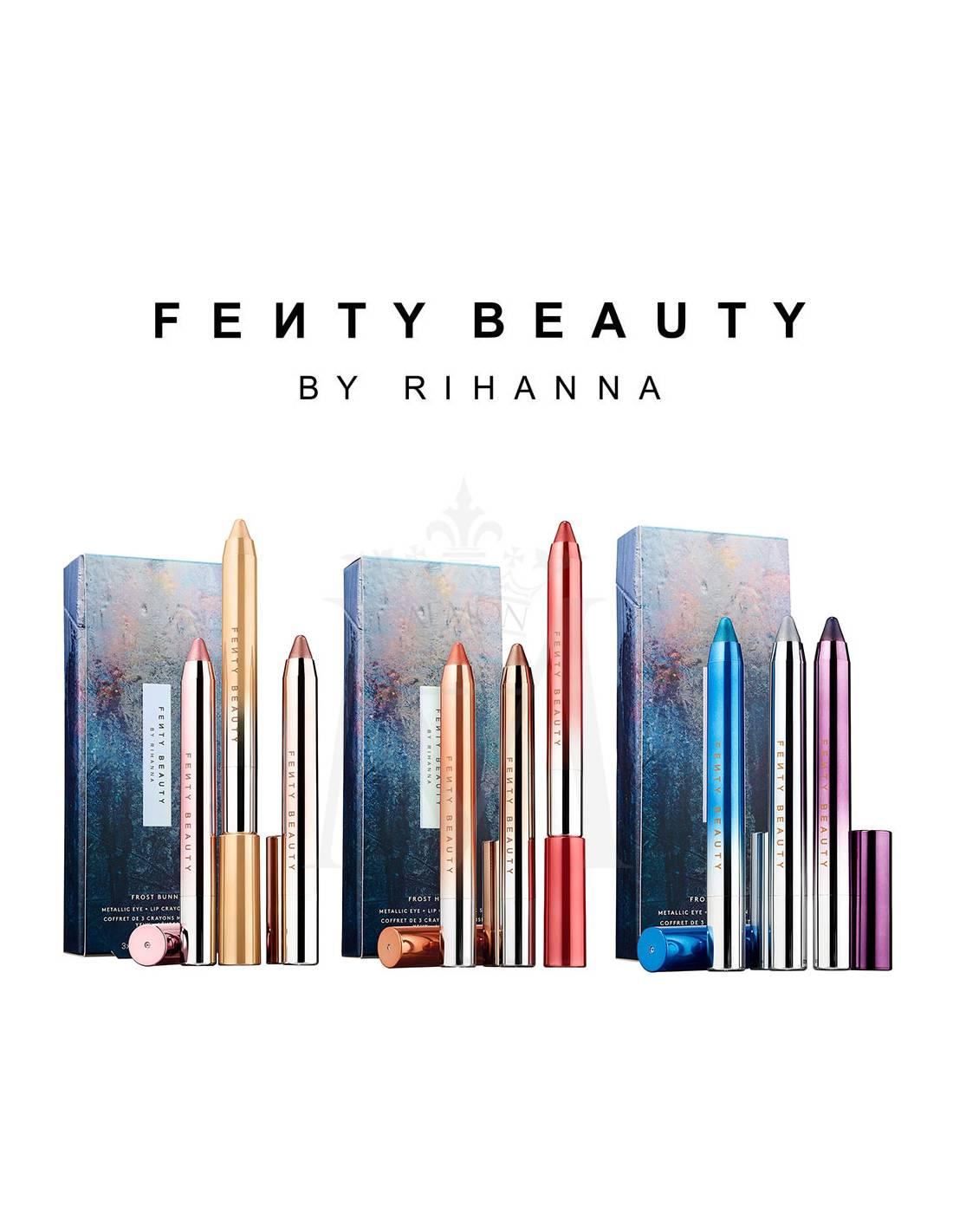 Fenty Beauty By Rihanna Metallic Eye Lip Crayon Set